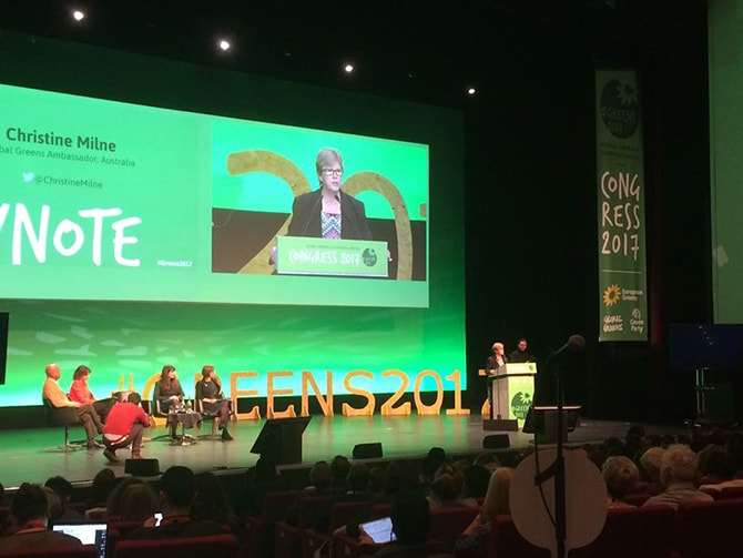 Global Greens Congress 2017 - Christine Milne