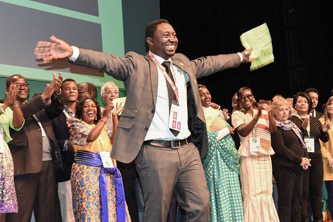 Global Greens Congress 2017 - Frank Habineza