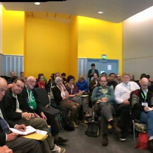 Report from Universal Basic Income session at Global Greens Congress, Liverpool, England