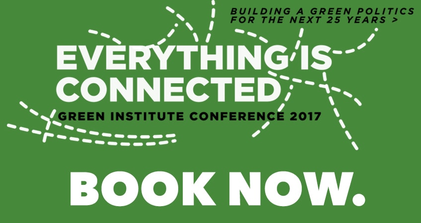 Green Institute Conference - Book Now