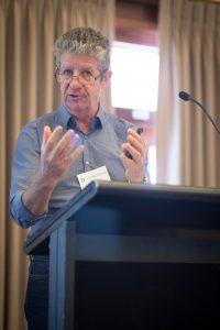 Professor Brendan Mackey presents to the plenary
