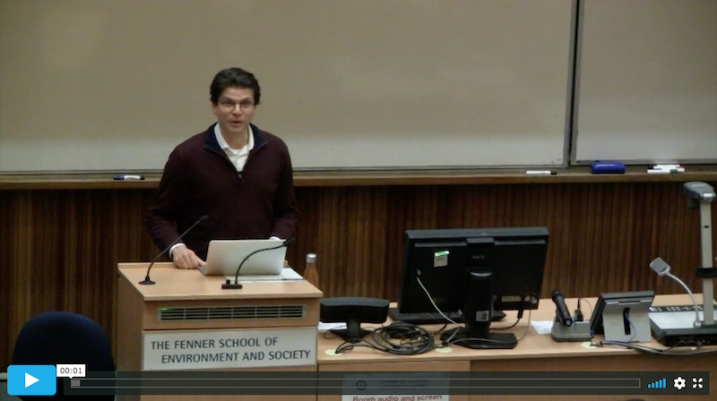 Seminar To Watch: Towards Ecological Democracy – A Political Theory For The 21st Century