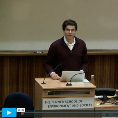 Seminar To Watch: Towards Ecological Democracy - A Political Theory For The 21st Century