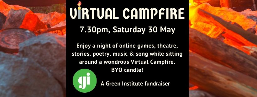 Virtual Campfire: A Green Institute Fundraiser