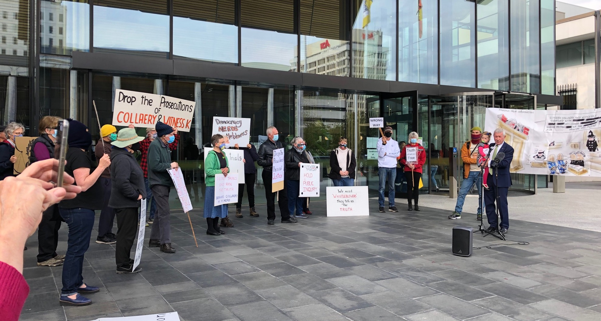 Government Of, By And For The Fossil Fuel Industry: Speech At Bernard Collaery Trial