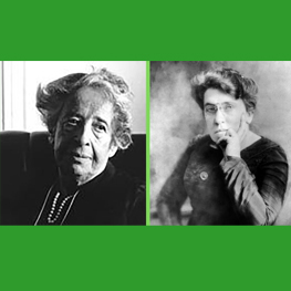Ecology, Citizenship, and Jewish Identity - Photo of Hannah Arendt and Emma Goldman